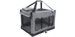 Best Dog Crates for Large Dogs- Mr.-Peanuts-Deluxe-Soft-Sided-Dog-House-Style-Portable-Pet-Crate