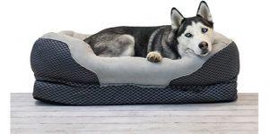Best Dog Beds-BarksBar Snuggly Sleeper Orthopedic Dog Bed