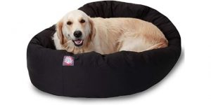 Best Dog Beds-Majestic Pet Bagel Dog Bed