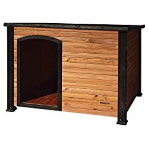 Best Dog House-Petmate Precision Extreme Outback Log Cabin