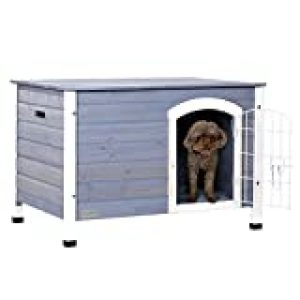 Best Dog House-Petsfit Indoor Wooden Dog House