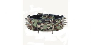Best Spiked Dog Collars-Spiked dog collar by Haoyueer